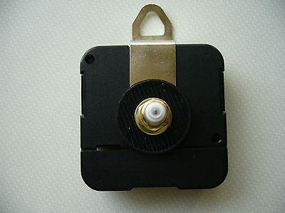 CLOCK MECHANISM QUARTZ EXTRA LONG SWEEP SPINDLE. 130mm WHITE BATON HANDS 5
