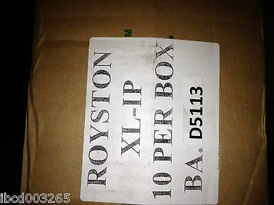 "BOX OF 20 Royston Handy Cap 4/"" x 4/"" Corrosion Protection Tapecoat Gray Adhesive"