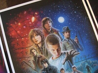"""Stranger Things (11"""" x 17"""")  Collector's Poster Prints  ( Set of 3 ) 5"""