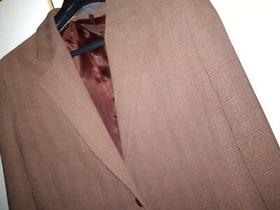 Taille Homme Tissu De Galles 48 Prince Jodhpur Motifs Marron Veste 1AvZqaw