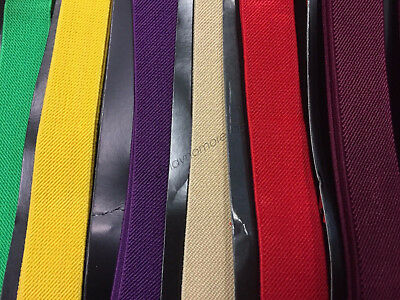 Mens Womens Suspenders Braces Elastic Adjustable Formal Wedding Unisex Trouser 4