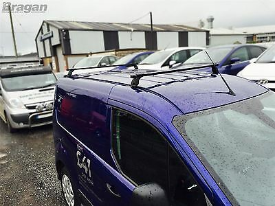 To Fit 07 - 16 Peugeot Expert Tepee PVC Metal Black Roof Rack Bars 2 Bar System 6