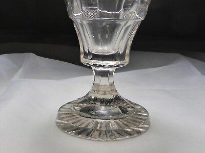 Kelchglas geschliffen graviert Böhmen o. Schlesien 1830-50 (Nr. 1115) 4