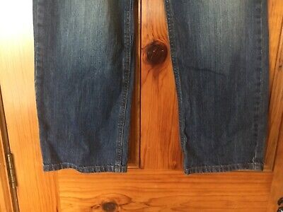 Next Boys Age 12 Blue Jeans Height 152cm in Great Condition 100% Cotton 3