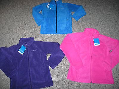 COLUMBIA Girl/'s Benton Springs or Sawyer Rapids Fleece Jacket,All Colors/& Sizes