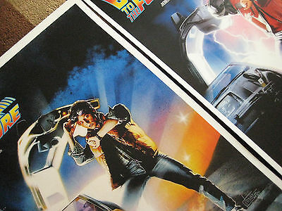 """Back to the Future ( 11"""" X 17"""" ) Movie Collector's Poster Prints ( Set of 3 ) 4"""