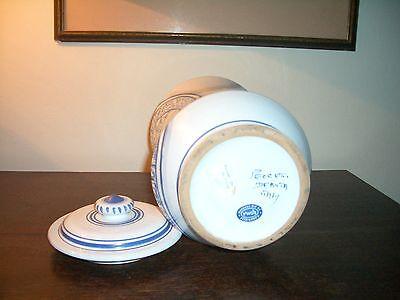 Deruta - Apotheker Vasen Majolika italienische Keramik handgemalt Paar 5