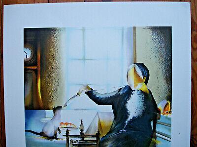 Lithographie Raymond Poulet- 75/54-La Fileuse- 87/200 3