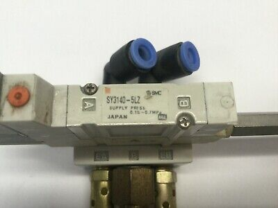 SMC SY3140-5LZ-01T Assy. Solenoid, ARBY3000-05-P-2 Regulator, SY3140-5LZ 3