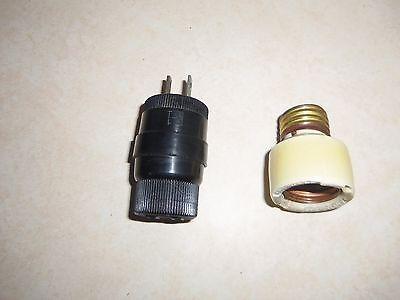 2 pieces Vintage NOS Electrical 3