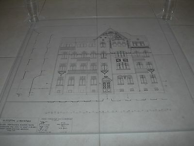 Vintage Architectural Scale Drawing Inventory And Documentation (17) 1980 Poland 11