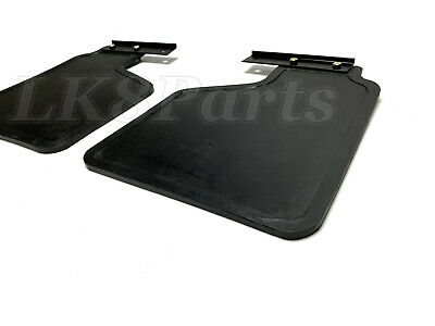 LAND ROVER DISCOVERY 1 1994-1999 REAR MUDFLAP KIT PAIR WITH FITTINGS RTC6821