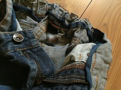 Next Boy's blue Jeans  (6 years), pre-owned. 6