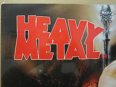 HEAVY METAL 1999 ORIGINAL Vintage science fiction and fantasy movie Poster 1484