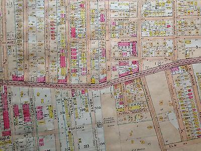 1907 BELCHER HYDE DEXTER PARK WOODHAVEN P.S 65 QUEENS NY PLAT COPY ATLAS MAP