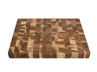 Wood, Handmade, Cutting Board End Grain with Feet, Butcher Block, Chopping Board 4