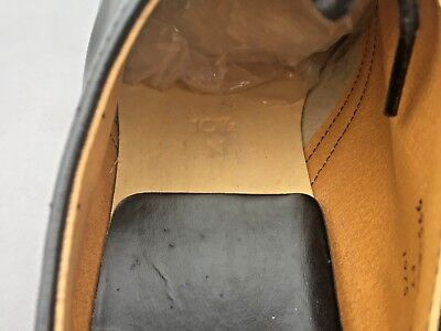 Dr Martens 1462 black leather shoes UK 10.5 EU 45.5 Made in England 5
