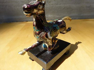 Superb Small closionne figurine of a horse-chinese ca.1970s [Y7-W7-A9] 7