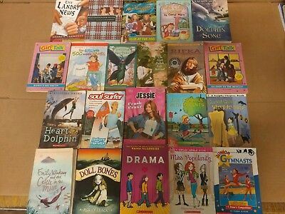 Lot of 20 Chapter Books for GIRLS Youth Early Reader Young Adult Children RANDOM 3