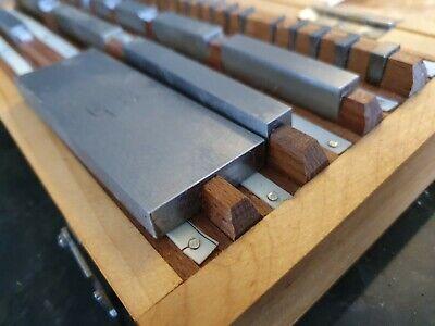 Precision Metric Gauge Block (38 pcs) Class 1 Top Grade ! solid alloy VERY RARE! 2