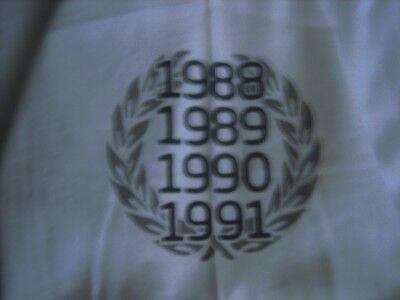 Men/'s McLaren Heritage Quartet Championship years 1988-91 T-Shirt Very Rare NEW