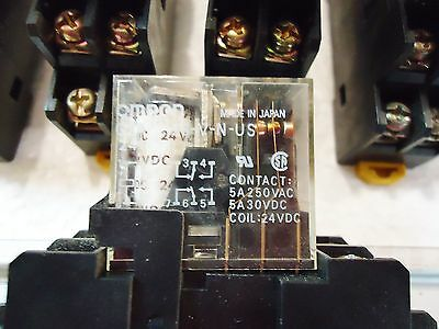10 Omron G2R-212S-V-N-Us W/Rj9Sa)Max.5A250V And Aluminum Runner/Base 4