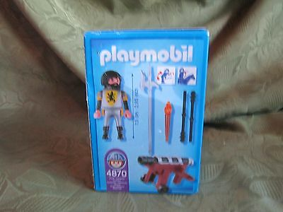 Playmobil 4870 Lion Knights series Cannon Guard Klicky NEW IN BOX 145