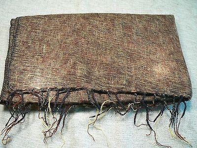 Hand woven yak wool shawl acrylic mixed / fular lana de yak con acrílico 2