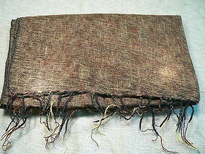 Hand woven yak wool shawl / chal lana de yak / Schultertuch / scialle / xale