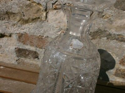 carafe en  cristal de boheme 8
