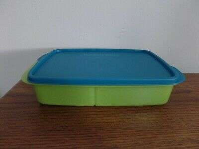Tupperware Large Lunch-It Divided Lunch Container NEW 2