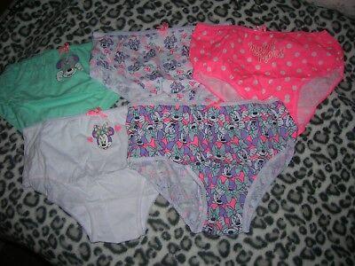 5 Bikini Briefs Disney for Girl 9-10 years 2