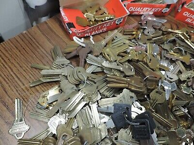 18 pounds key blanks ilco,corbin russwin, schlage, star , sargent others #2 3