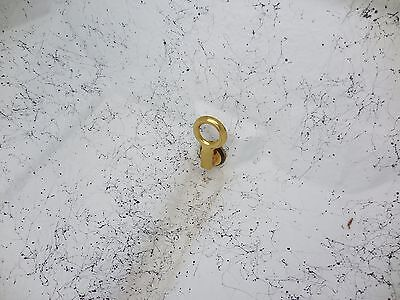 """Marpac 7-0569 Boat Drain Tube Brass Flanged 1/"""" x 3/"""" New Universal"""