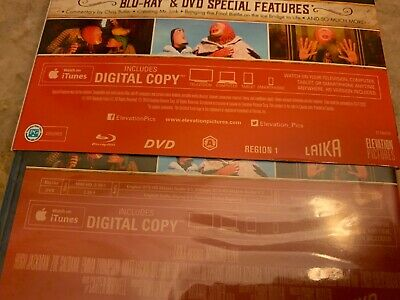 Missing Link 2019 Blu-Ray & DVD w Slipcover Canada Bilingual NO DC LOOK 3