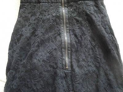 Gr 32// 34 M2107-979683 Schönes 1//2 Arm Shirtkleid in dunkelblau