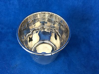 Antique Islamic, Middle East, Persian Silver Cup Engraved 6