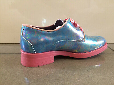 L Loafers Brogue Shoes Bed Of Roses By Irregular Choice /'Nessie/'