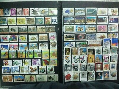 100 Australia Kiloware Used stamps off Paper - buy 2 lots + BONUS