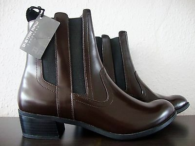 73f2ba20b05fd1 ... G-STAR RAW Boots Damen Stiefelette Ankle Boots Stiefel Leder Schuhe  Gr.40 NEU