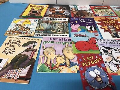 Childrens Bedtime Books - LOT OF 20 - Story Time Sets Paperback Hardcover 4