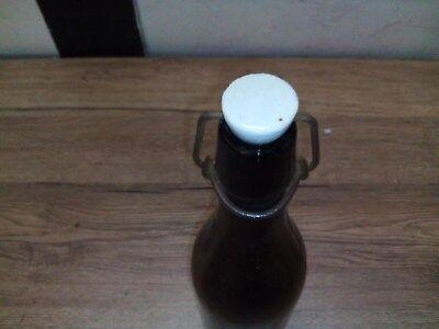 Alte Glas Bierflasche,Bügelverschlussflasche,Bierflasche 2