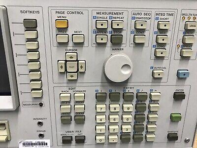 HP 4145B Semiconductor Parameter Analyzer Hewlett Packard ID-AWW-AWW-9-3-4 4