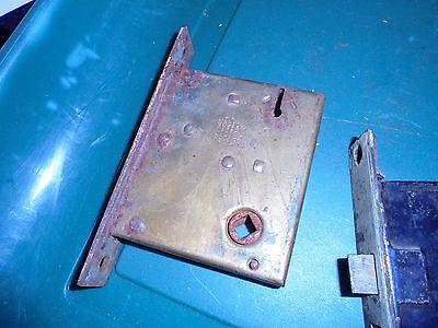 Three Lock Inserts See No Names  Vtg 5