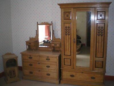 antique, vintage retro bedroom suite 11