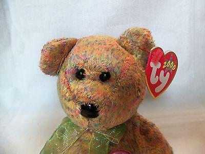 TY Beanie Babies Softest Teddy Bear ** SPECKLES ** 6th Generation New w/ Tag