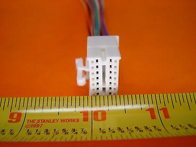 clarion 18-pin wire harness plug vx404 nx404 nx602 nx604 nx605 nz503  vz401 vz400 6