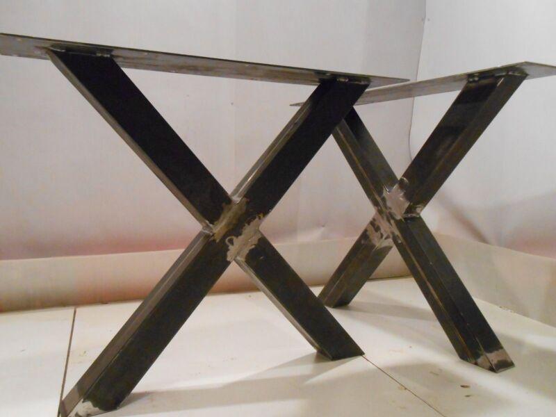 Gambe Per Tavoli Design.Gambe Tavolo Ferro Design 2 X Iron Table Legs 3 Finishes A