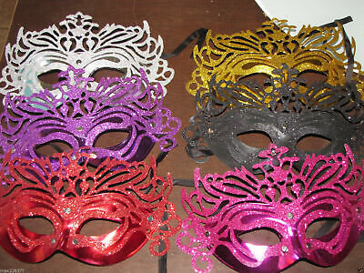 NEW MARDI GRAS masquerade party favor weddings MASKS LOT of 150 mask wholesale