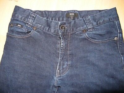 Worn Once Boys Hugo Boss Slim Fit Stretch Straight Leg Dk Blue Jeans Age 12-14 5